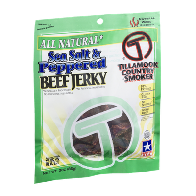 Tillamook Country Smoker Sea Salt & Peppered Beef Jerky