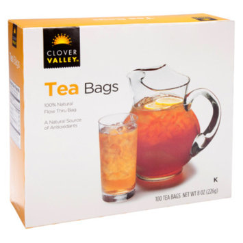 Clover Valley Teabags, 100 ct
