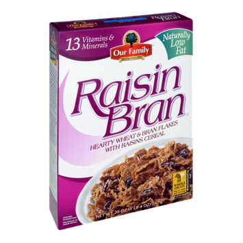 Our Family Raisin Bran Cereal