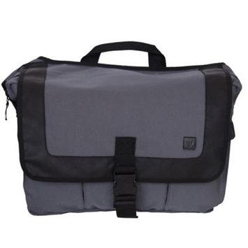 Diaper Dude Llc Diaper Dude Courier Style Messenger III Diaper Bag - Grey