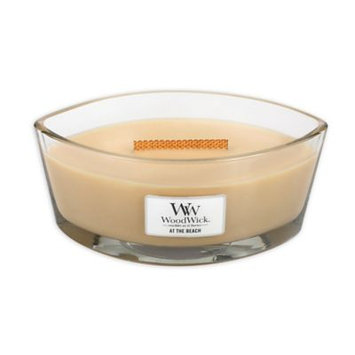 WoodWick(R) HearthWick Flame(R) At The Beach Candle, Brown