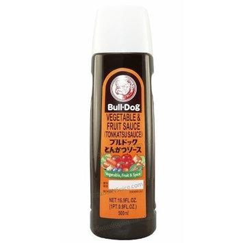 Bull Dog Bull-Dog, Tonkatsu Vegetable & Fruit Sauce 16.9oz (500ml) -