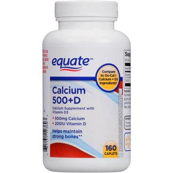 Perrigo Company Equate Calcium 500+D Dietary Supplement, 160 count