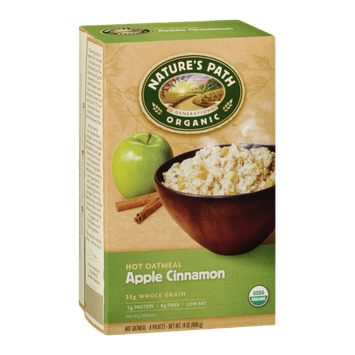 Nature's Path Organic Apple Cinnamon Hot Oatmeal - 8 CT