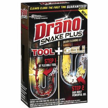 Drano Snake Plus Drain Cleaning Tool + Gel Kit