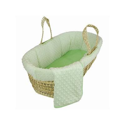 Tadpoles Dimple Velour Moses Basket