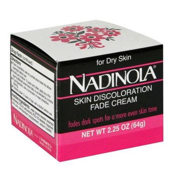 Nadinola Skin Discoloration Fade Cream for Dry Skin - 2.25 oz