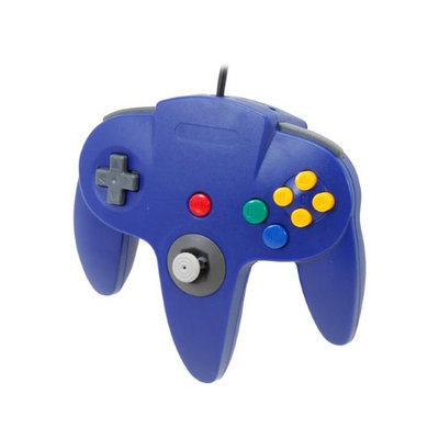 Hyperkin Cirka N64 Controller with long handle (Blue)