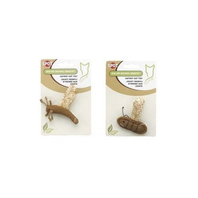 Ethical Pets Ethical Cat, Eco-Cat Catnip Filled Natural Insects Pack (Fly, Bee & Dragon Fly): Cat Toys