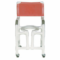 MJM International Bundle-94  Standard Deluxe Shower Chair with True Vertical Open Front Frame