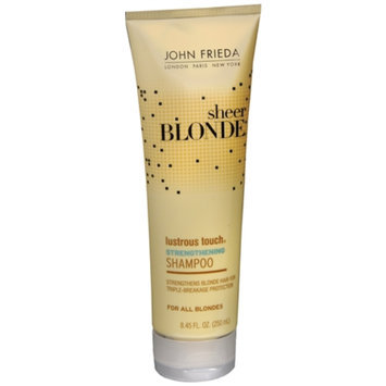 John Frieda® Sheer Blonde Lustrous Touch Strengthening Shampoo
