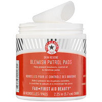 First Aid Beauty Skin Rescue Blemish Patrol Pads 60 Days, 60 ea