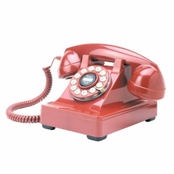 Crosley Radio Kettle Desk Phone-Red