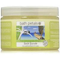 Bath Petals Salt Scrub, Thai Lemongrass Ginger, 20 Ounce