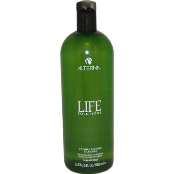 Alterna Life Solutions Volume Restore Shampoo, 33.8 Ounce