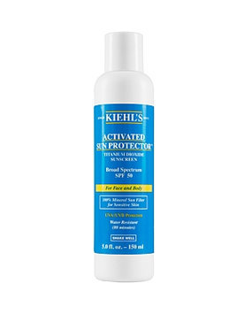 Kiehls Activated Sun Protector 100% Mineral Sunscreen SPF 50