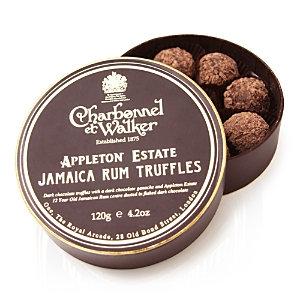 Charbonnel et Walker Appleton Estate rum truffles (120g)