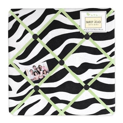 Sweet Jojo Designs Zebra Lime Collection Memo Board