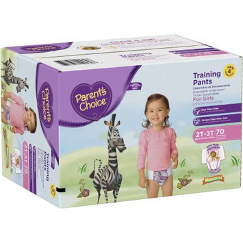 Parents Choice Parent's Choice Training Pants for Girls, Super Pack (Choose Your Size)