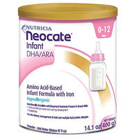 Neocate Infant with DHA and ARA, 14.1 oz / 400 g (Case of 4 cans)