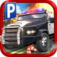 Play With Friends Games 3D Police Parking Simulator Game