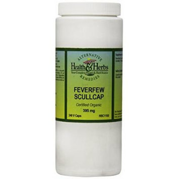 Alternative Health & Herbs Remedies Feverfew Scullcap Vegetarian Capsules, 240-Count Bottle