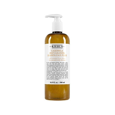 Kiehl's Since 1851 Calendula Deep Cleansing Foaming Face Wash, 500 mL