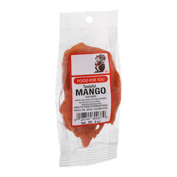 Food For You Mango Sun Dried