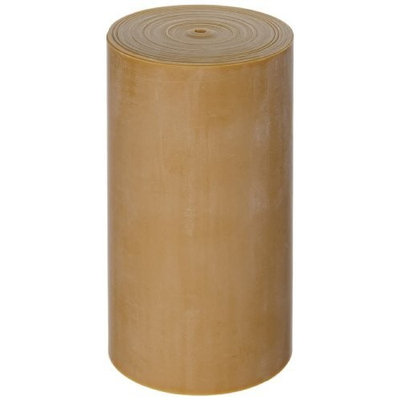 Cando 10-5217 Gold Low Powder Latex Exercise Band, XXX-Heavy Resistance, 6 yd Length