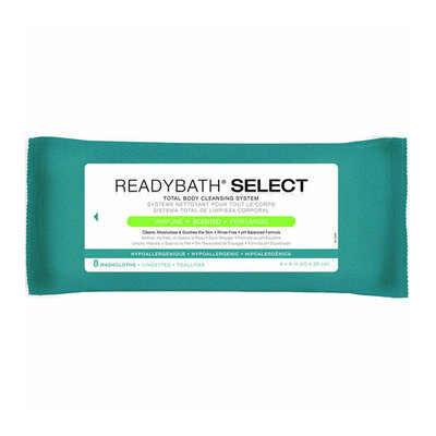 Medline ReadyBath Body Cleansing Washcloths (Pack of 30)