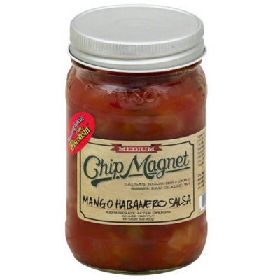 Chip Valley Salsa Chip Magnet Medium Mango Habanero Salsa, 16 oz, (Pack of 12)