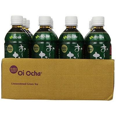 Ito En Tea Beverage, Unsweetened Oi Ocha Dark Green, 16.9 Ounce (Pack of 12)