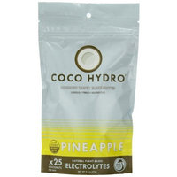 Big Tree Farms Coco Hydro Instant Coconut Water, Pineapple, 9.7-Ounce Package