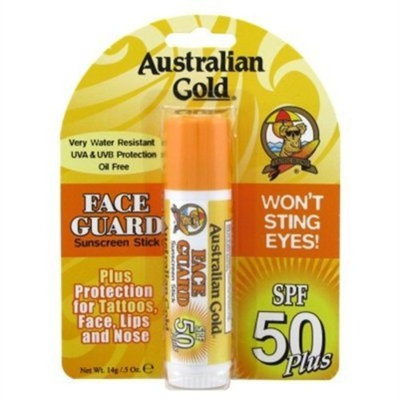 Australian Gold Spf#50 Face Guard Stick 0.6oz