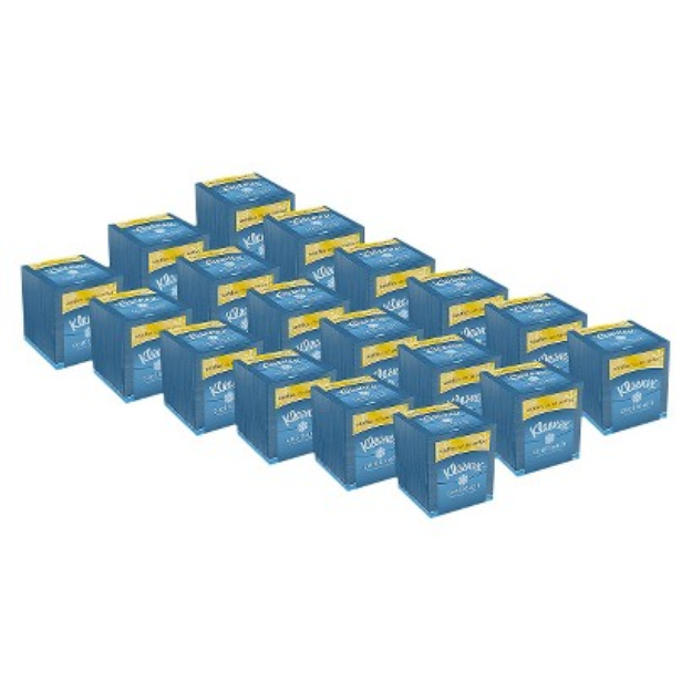 Kleenex Cool Touch Tissues, Upright 18 Boxes