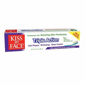 Kiss My Face Triple Action Fluoride Free Toothpaste
