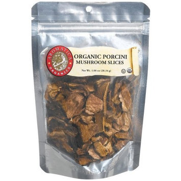 Aromatica Organics Porcini Mushrooms Sliced, 1.0-Ounce Bags (Pack of 6)