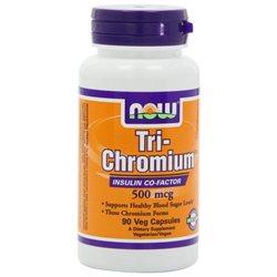 NOW Foods Tri-Chromium 500 mcg w Cinn VCaps