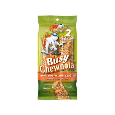 Busy Bone Chewnola Dog Treat (Pack of 4)