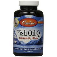 Carlson Laboratories Carlson Labs Fish Oil Q, 100mg, 120 Softgels