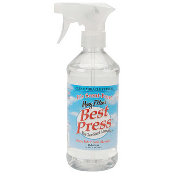 Mary Ellen Products 85806 Mary Ellens Best Press Clear Starch Alternative 16 Ounces-Scent Free