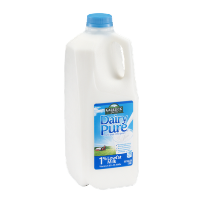 Garelick Farms Dairy Pure Milk 1% Lowfat