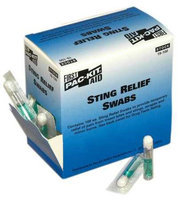 PAC-KIT 19-100G Sting Relief, Packet,4-1/4 In, PK100