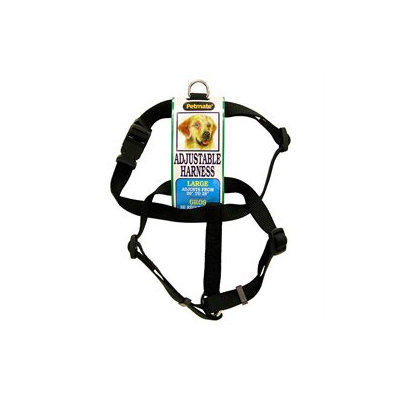 PETMATE 3/4 X 20 To 28 Black Harness