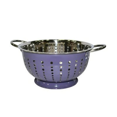 Michael Graves Purple Majesty Colored Colander - 11x5.25