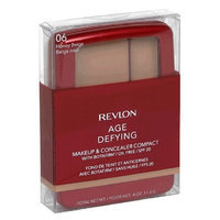 Revlon Age Defying Makeup and Concealer Compact with Botafirm, SPF 20, Honey Beige 06, 0.4 Ounce
