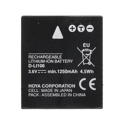 Battery for Pentax DLi106 Camera Battery
