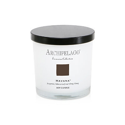 Archipelago Botanicals Excursion Collection Parsons Glass Filled Candle - Havana by Archipelago Botanicals