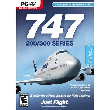 Digital Interactive 747-200-300 SERIES - FLIGHT SIMULATOR EXPANSION PACK - Black