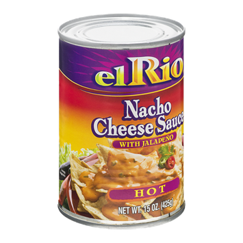 El Rio Nacho Cheese Sauce with Jalapeno Hot